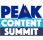 peak content summit 2021 logo